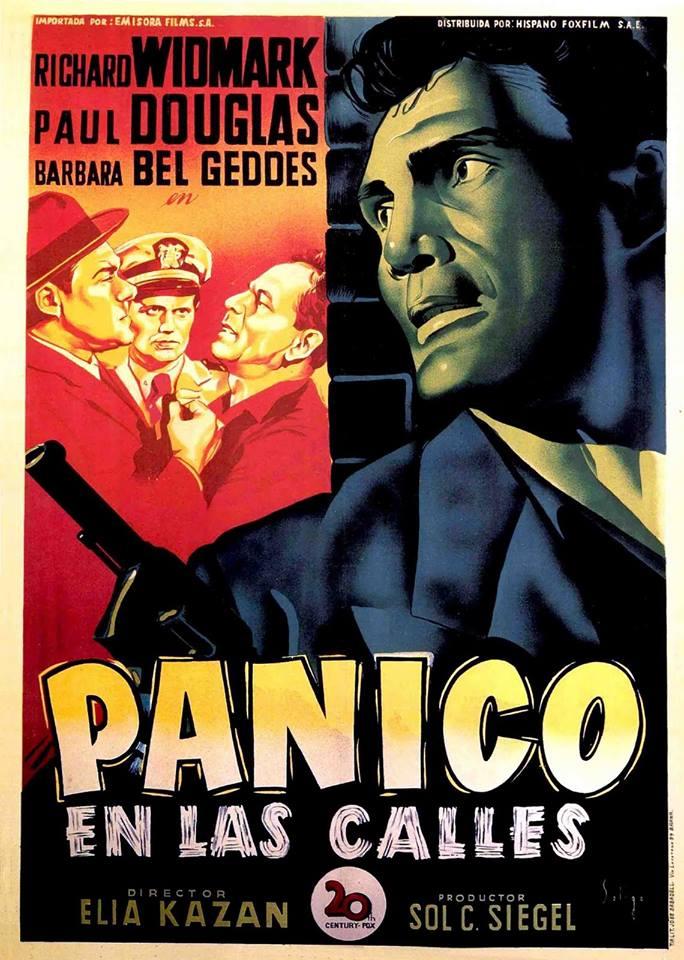 Pánico en las calles, cine negro