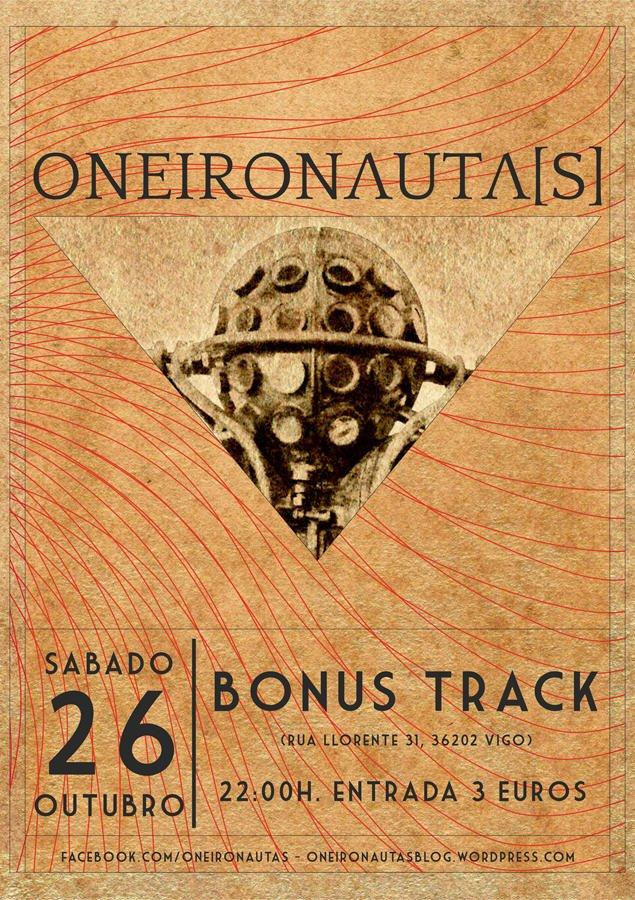 ONEIRONAUTA[S] 26 de Outubro @ Bonus Track