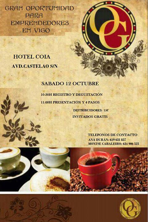 Presentación de negocio. Café saludable