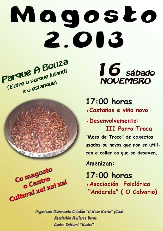 Magosto 2013 en A Bouza