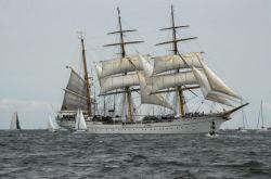 Nos visita el buque escuela Gorch Fock