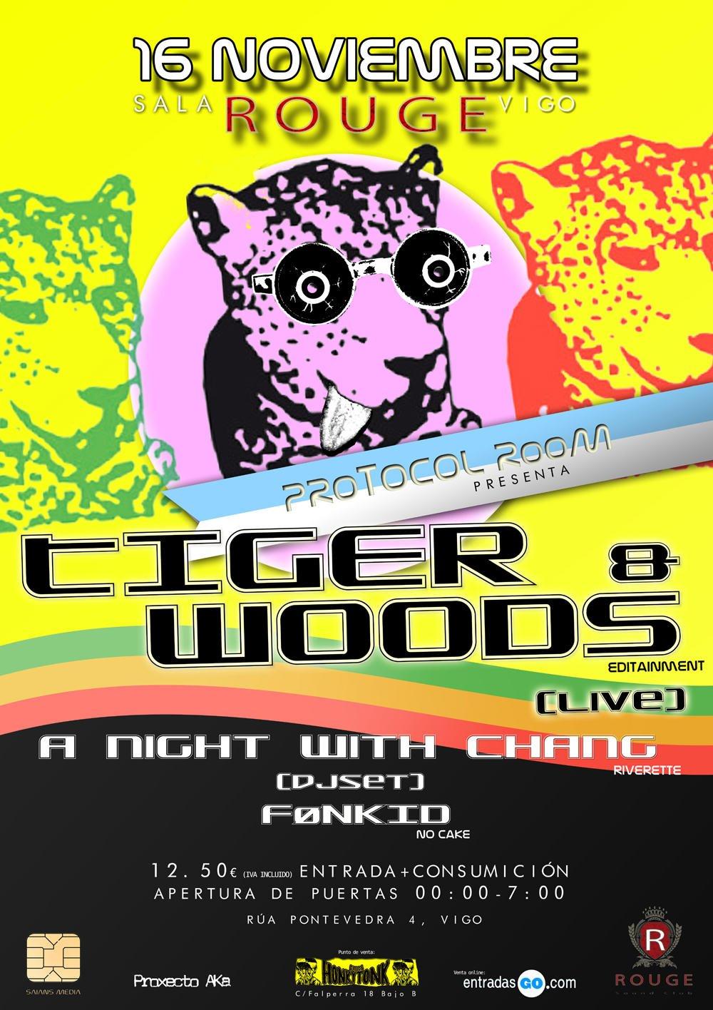 Primera visita de TIGER[and]WOODS a Vigo