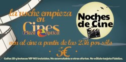 Noches de Cine en Plaza E por 5€