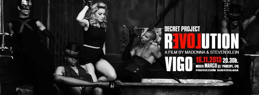 Estreno de Secret Proyect Revolution de Madonna en Vigo
