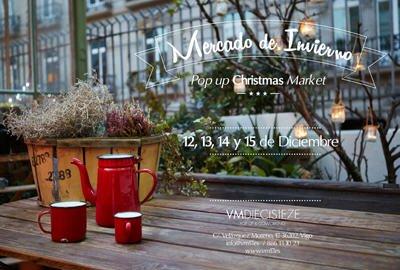 """Mercado de invierno. """"Pop Up Christmas market"""""""