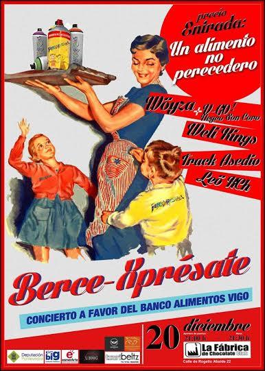 """Concierto Solidario """"BerceXprésate"""""""