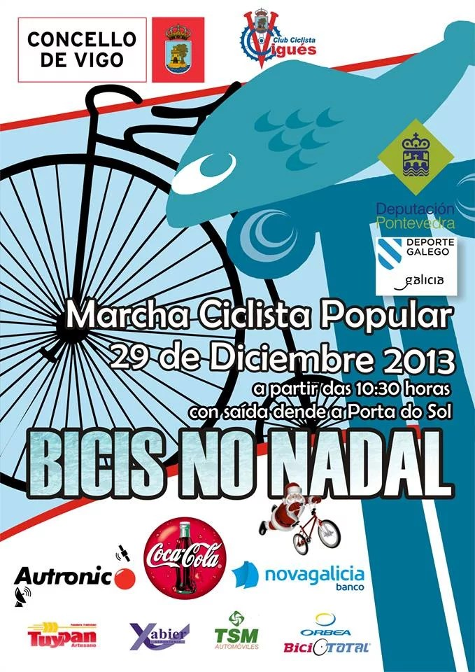 "Marcha popular ""Bicis no Nadal"""