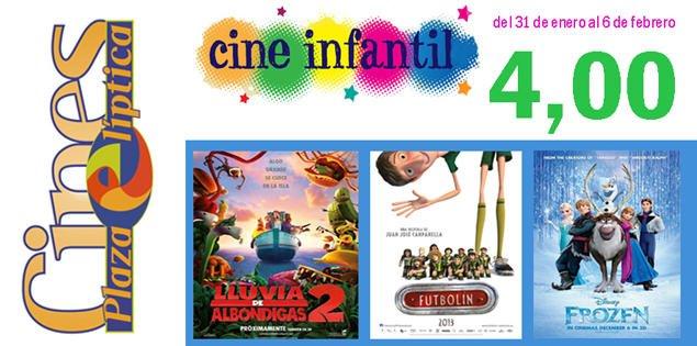 Cine infantil 4 Euros