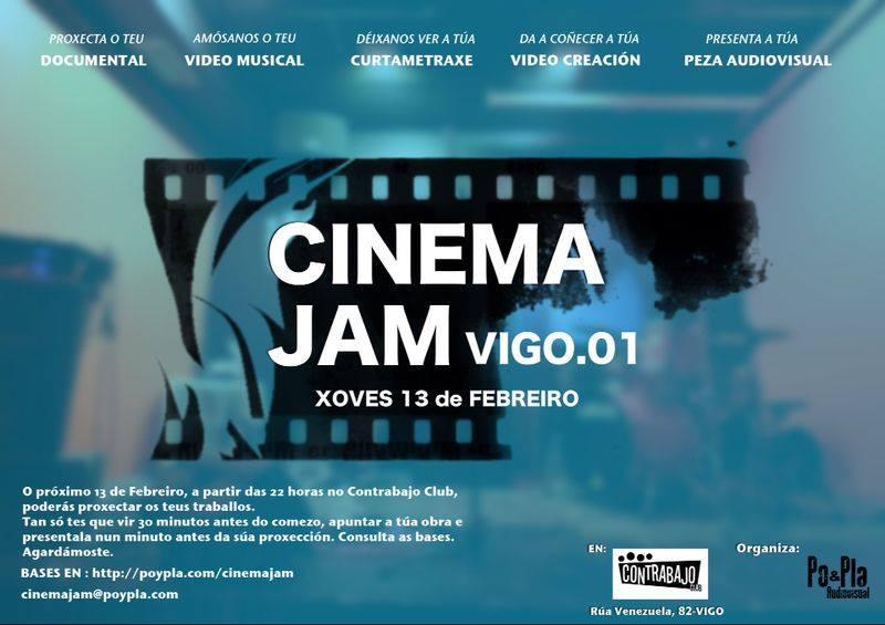 CINEMAJAM de Vigo