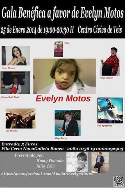 Gala Benéfica a Favor de Evelyn Motos