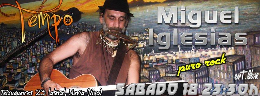 Miguel Iglesias en Concierto