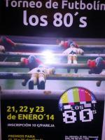 Torneo de futbolín Los 80's