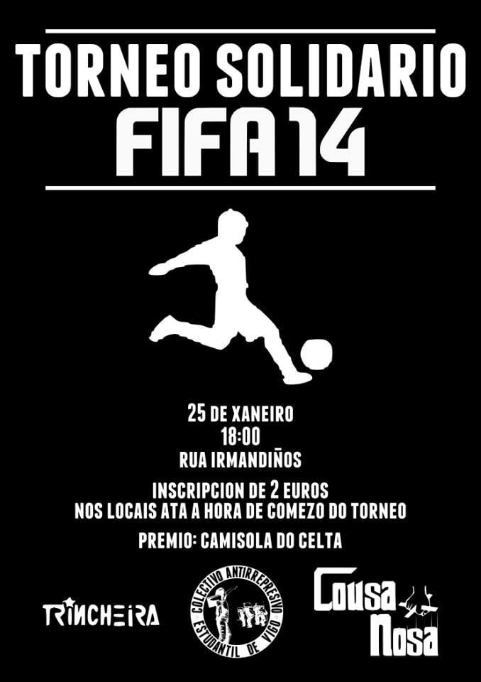 Torneo solidario FIFA 14