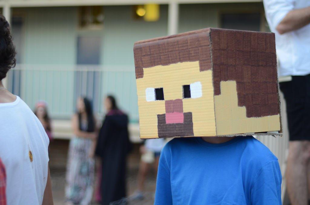 Disfraz de Minecraft
