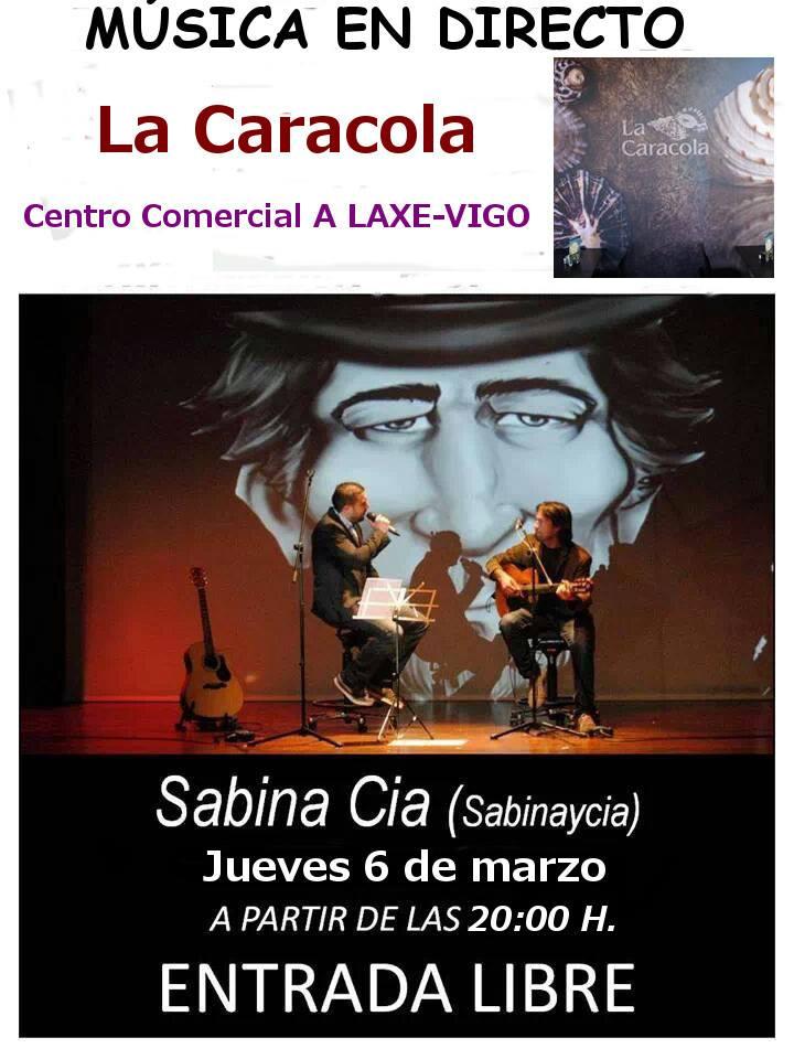 Concierto Sabina & Cia en C.C a Laxe de Vigo