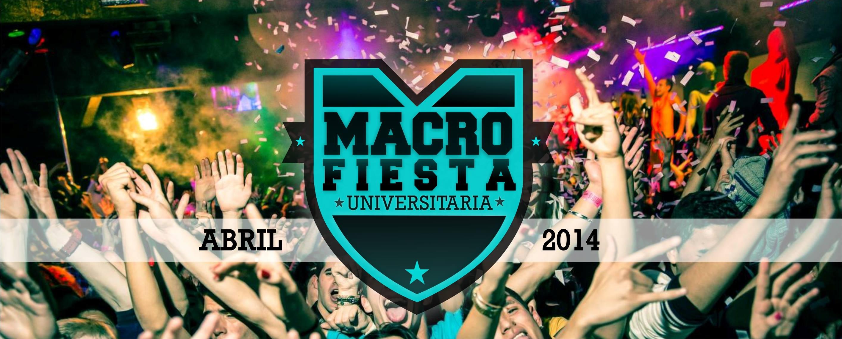 Macro Fiesta Universitaria 2014 en A Cañiza