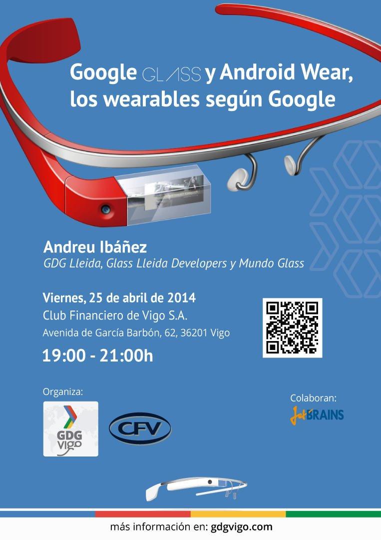 Demostración de las Google Glass en Vigo