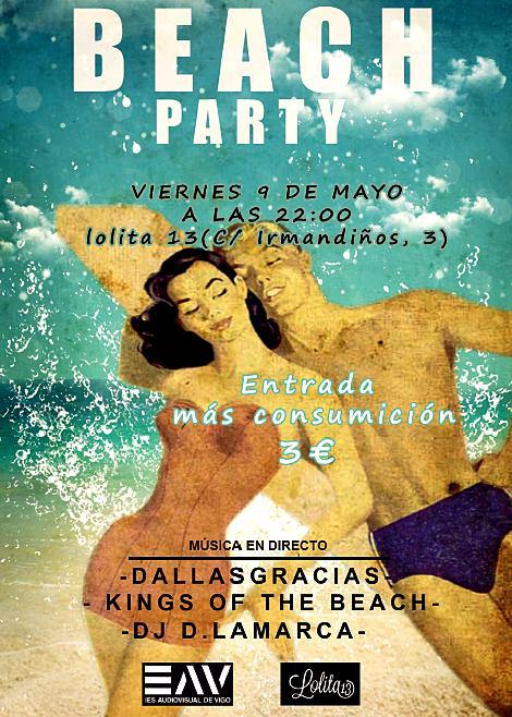 Beach Party para financiar un cortometraje