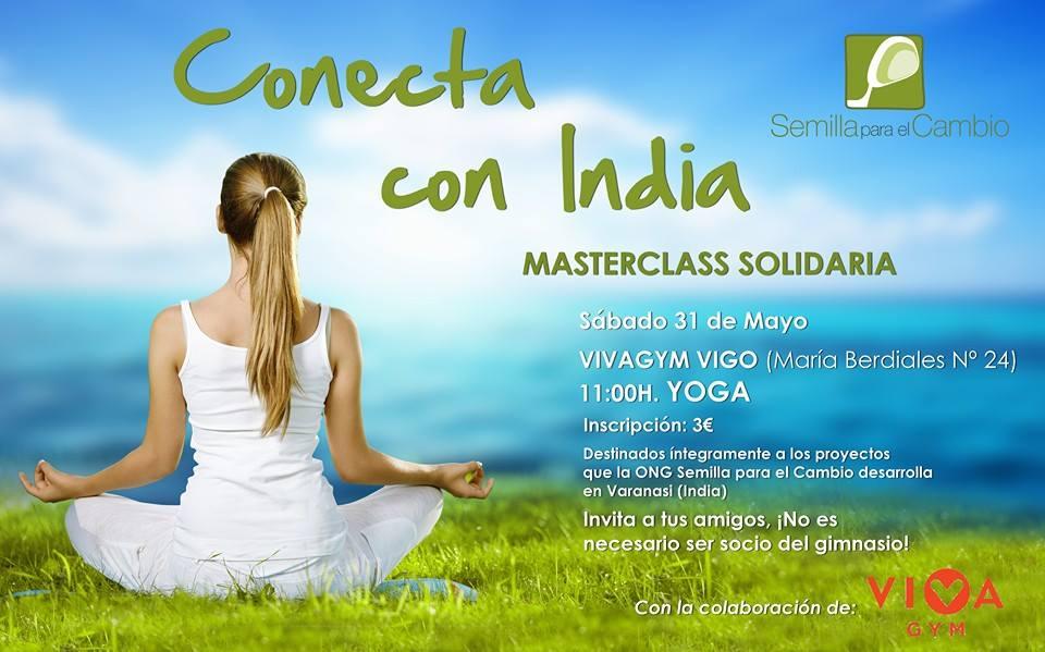 Yoga solidario a favor de Semilla para el Cambio