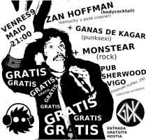 Concierto Zan Hoffman + MonsTear + Ganas de Kagar