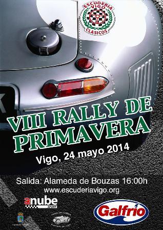 VIII Rally de Primavera para vehículos clásicos