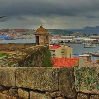 Vistas fortaleza de San Sebastián
