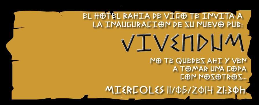 Vivendum, nuevo Pub en el Hotel Bahía de Vigo