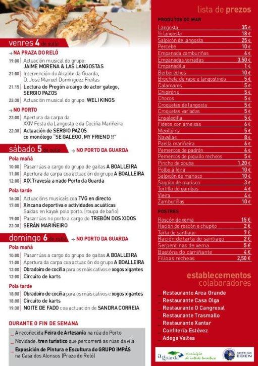 Fiesta de la langosta 2014