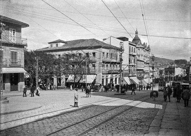 Nombres de las Calles de Vigo de ayer y hoy