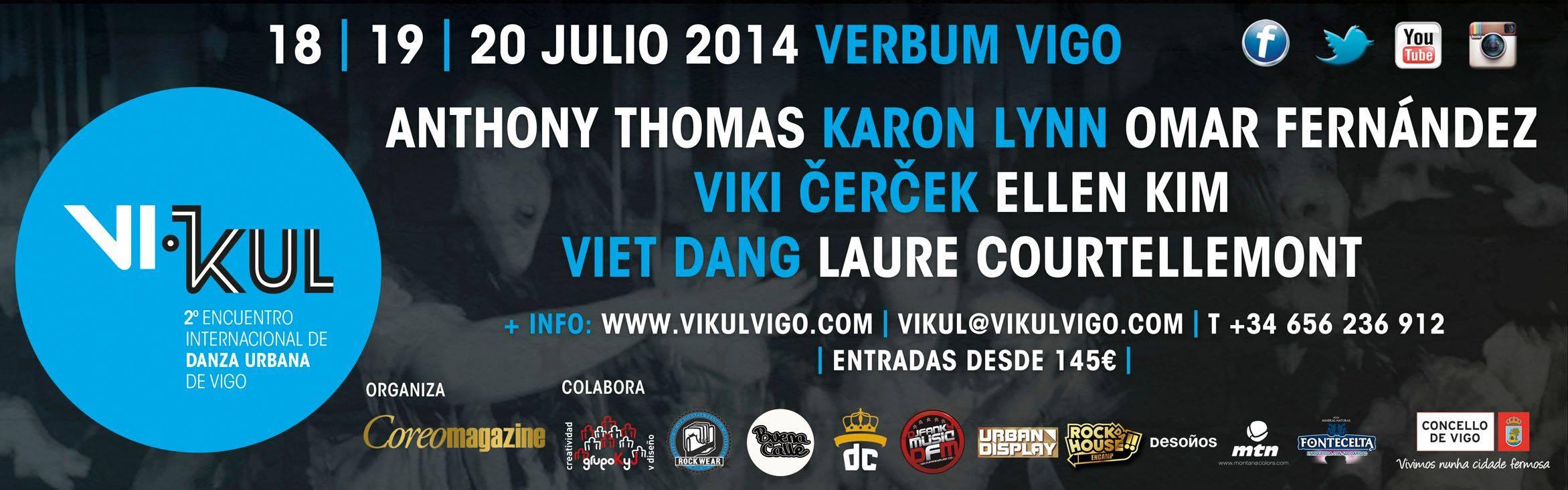 Vikul, encontro de Danza Urbana en Vigo
