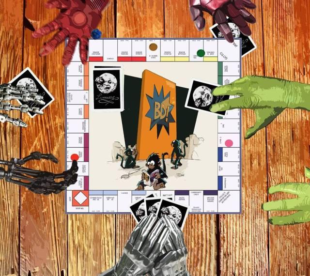 Jornada de juegos de mesa Lumière-Banda Deseñada