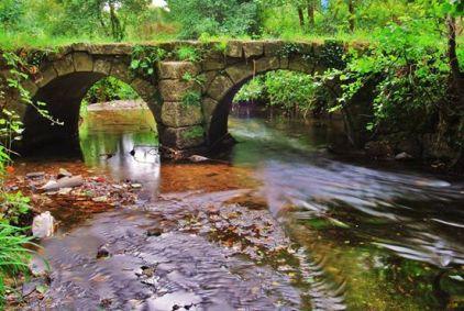 Puente medieval de Vigo