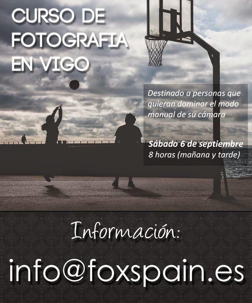 Curso de fotografía en Vigo