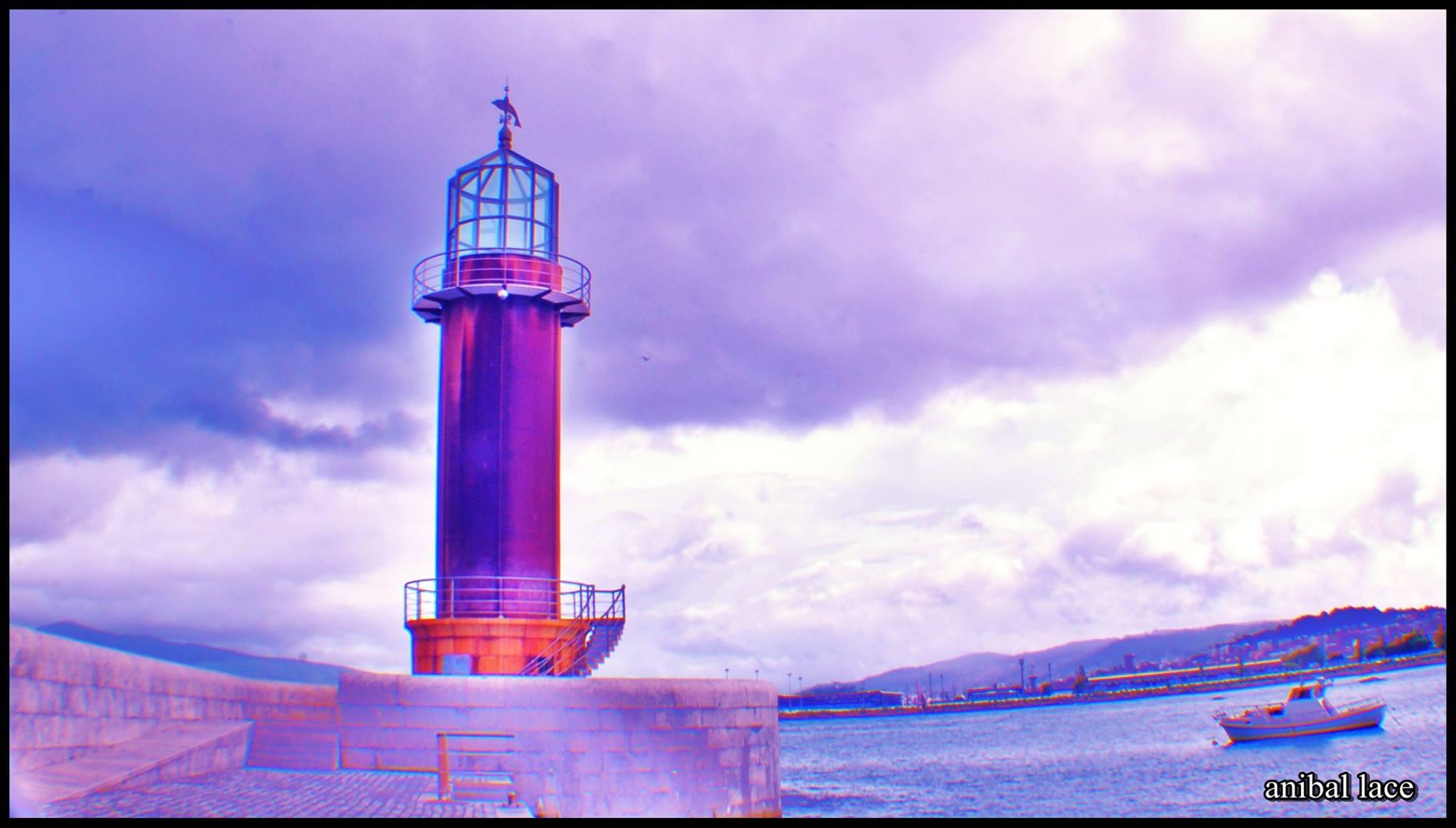 Faro del Museo del Mar de Vigo