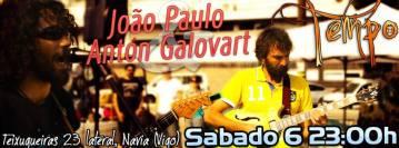 Concierto de João Paulo y Antón Galobart