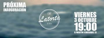 Inauguración Café Latorta en Coia