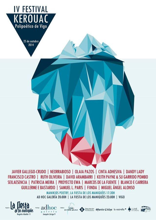 Festival Kerouac, Polipoético de Vigo 2014