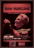 Ibán Marciano, Tributo a Chavela Vargas