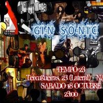 Gin Sonic Sábado 18 a las 23:00