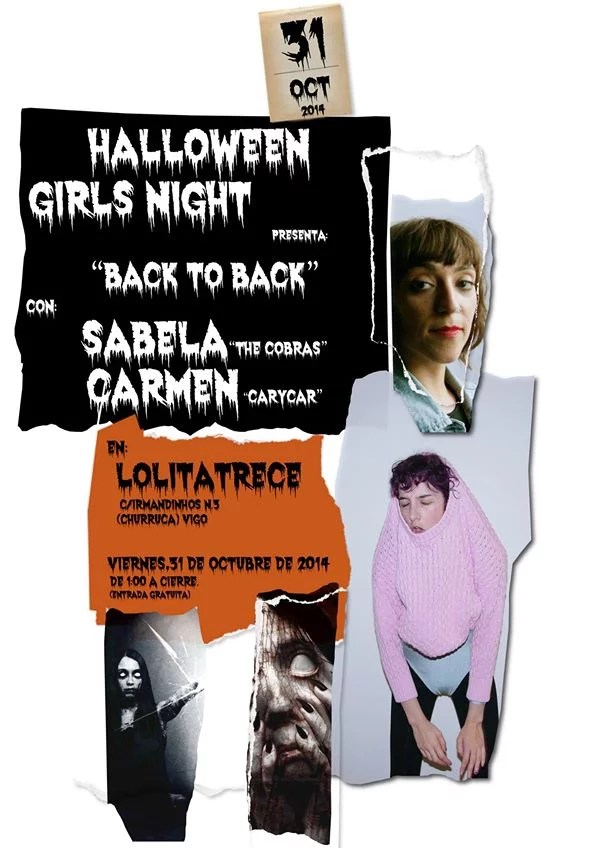 Halloween Girls Night