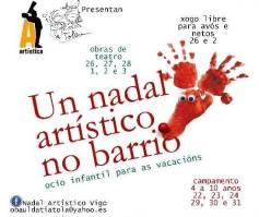 Campamento Nadal Artístico Vigo