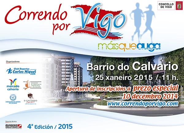 Correndo por Vigo Maisqueauga 2015