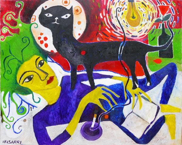 Exposición de pintura de la artista viguesa Teresa Irisarri
