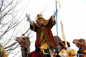 Cabalgata de Reyes en Navia