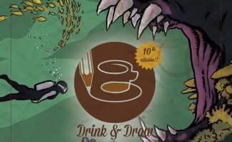 Drink & Draw Monstruos de las profundidades