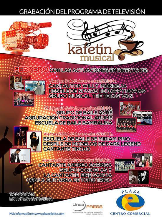 Kafetín Musical de Febrero