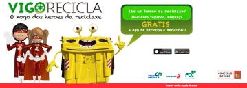 VigoRecicla, app para aprender a reciclar