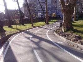 Zona de bicicletas para niños en Castrelos
