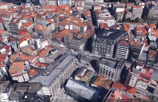 Vigo en 3D con Google Earth