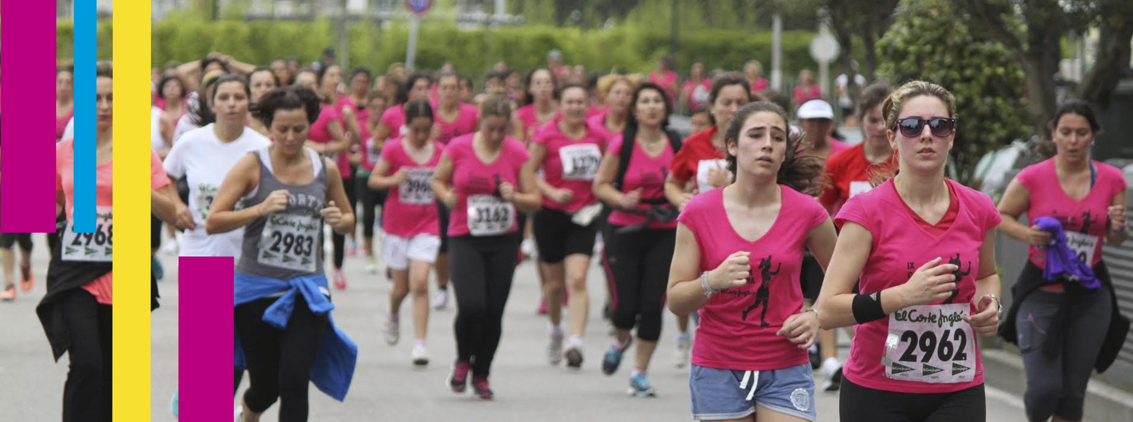 Carrera Femenina Correr y Andar – El Corte Inglés